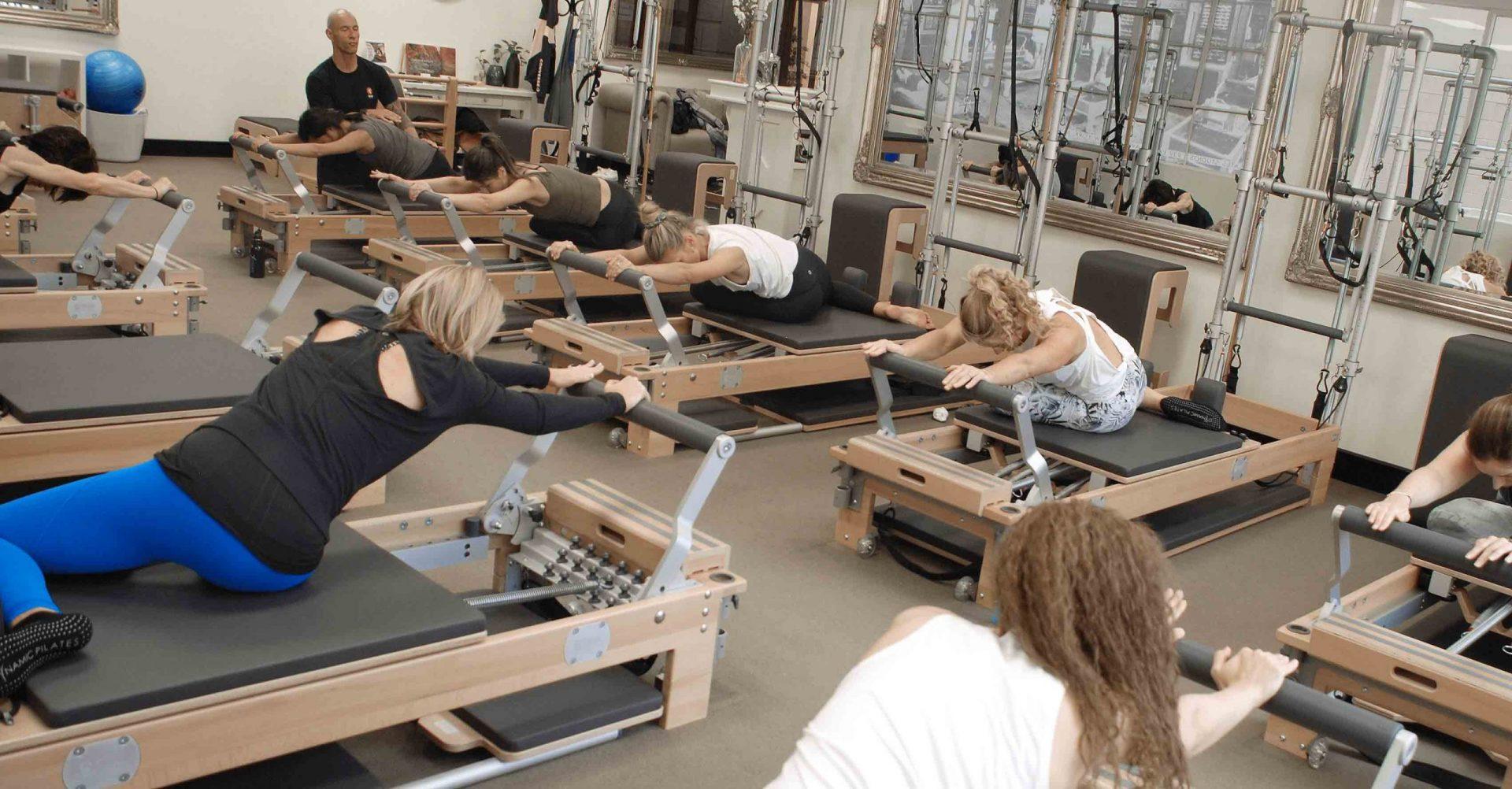 Dynamic Pilates Reformer Beginners Class