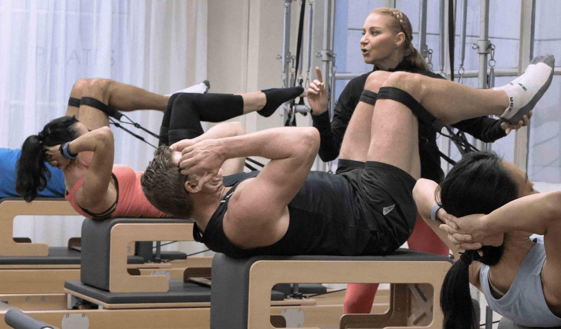 Dynamic Pilates Reformer Intermediate Class