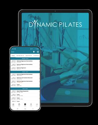 dynamic pilates mobile app ipad